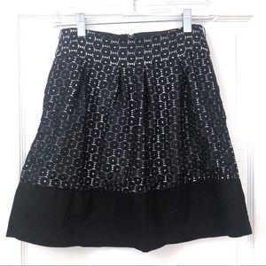 Maurices Modern Lace Overlay Black Mini Skirt